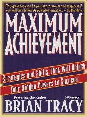 cover image of Maximum Achievement