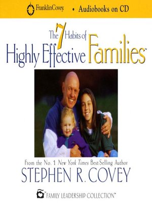 cover image of 7 Habits of Highly Effective Families