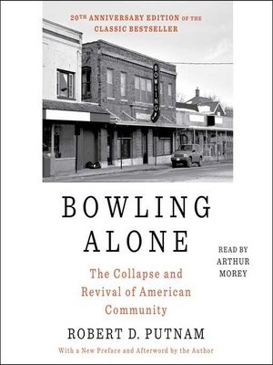 cover image of Bowling Alone