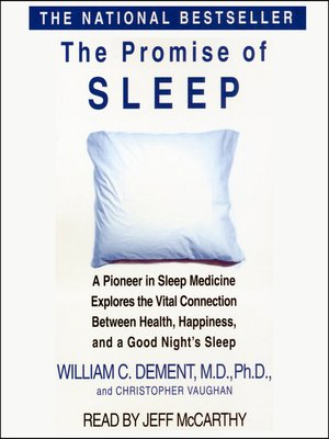 cover image of The Promise of Sleep
