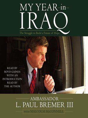cover image of My Year in Iraq