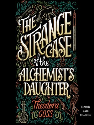 cover image of The Strange Case of the Alchemist's Daughter