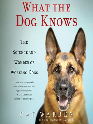 cover image of What the Dog Knows