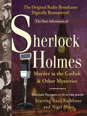 cover image of Murder in the Casbah and Other Mysteries