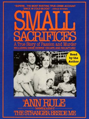 cover image of Small Sacrifices