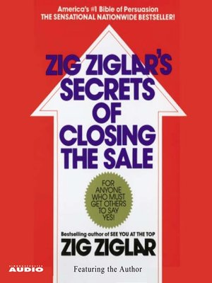 cover image of The Secrets of Closing the Sale