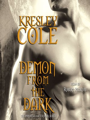 cover image of Demon from the Dark