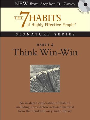 cover image of Habit 4 Think Win-Win