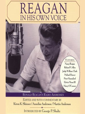 cover image of Reagan In His Own Voice