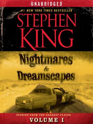 cover image of Nightmares & Dreamscapes, Volume I