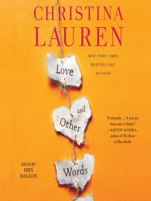 cover image of Love and Other Words