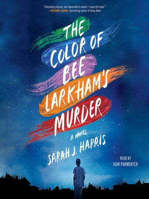 cover image of The Color of Bee Larkham's Murder