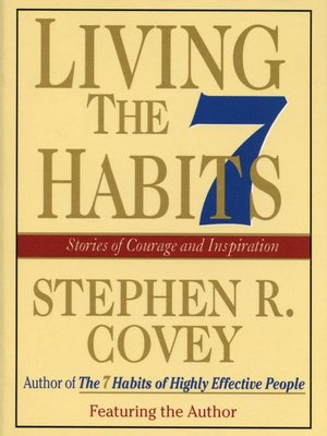 cover image of Living the 7 Habits