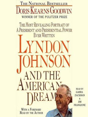 cover image of Lyndon Johnson and the American Dream