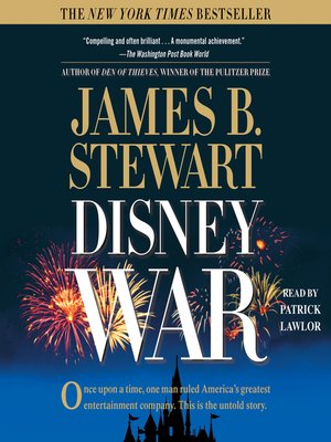 cover image of DisneyWar