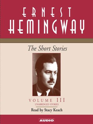 cover image of The Short Stories Volume III