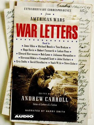cover image of War Letters