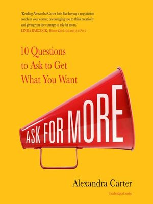 cover image of Ask for More