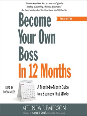cover image of Become Your Own Boss in 12 Months