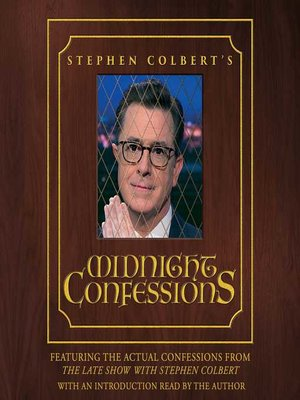 cover image of Stephen Colbert's Midnight Confessions