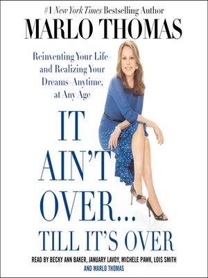 cover image of It Ain't Over . . . Till It's Over