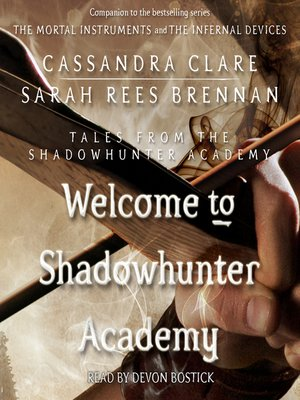 cover image of Welcome to Shadowhunter Academy
