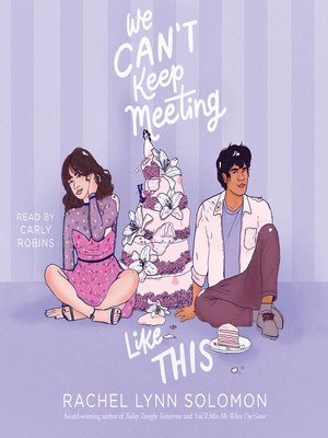 cover image of We Can't Keep Meeting Like This