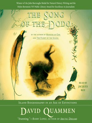 cover image of The Song of the Dodo