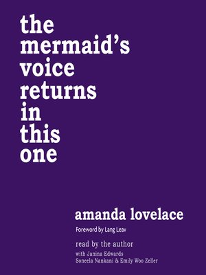 cover image of The Mermaid's Voice Returns in This One
