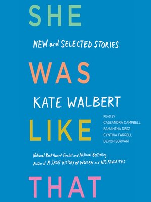 cover image of She Was Like That
