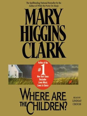 cover image of Where are the Children?