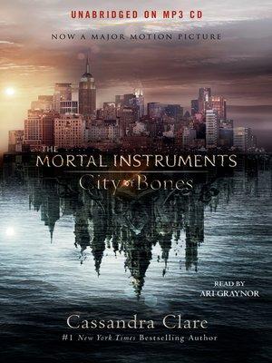 cover image of City of Bones (Movie Tie-in)
