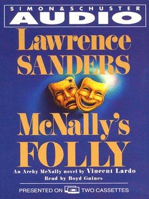 cover image of McNally's Folly