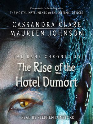 The Fall Of The Hotel Dumort Epub