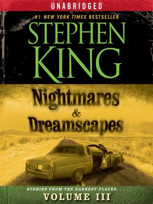 cover image of Nightmares & Dreamscapes, Volume III