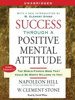 cover image of Success Through a Positive Mental Attitude