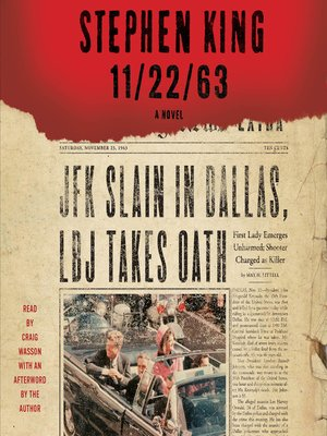 cover image of 11/22/63