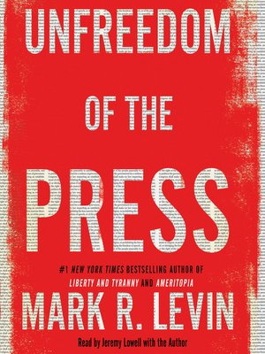 cover image of Unfreedom of the Press