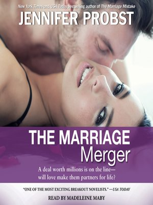 cover image of The Marriage Merger