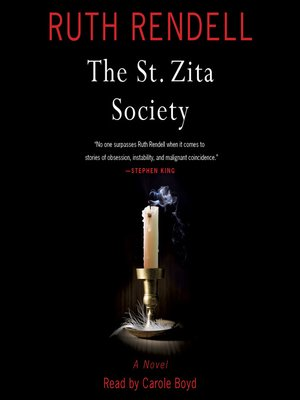 cover image of The St. Zita Society