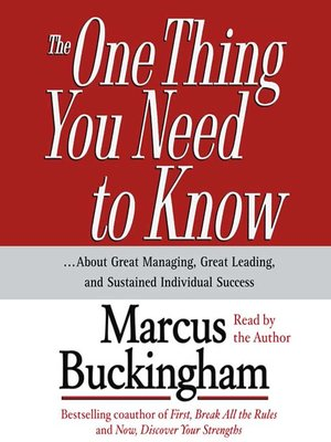 the truth about you marcus buckingham pdf