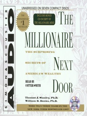 a summary of the millionaire next door by thomas stanley Download the millionaire next door by thomas j stanley pdf book online no of pages in pdf are 270 version shopper three was the most interesting of the people with whom i came into contact this book is written by thomas j stanley and name of this book is the millionaire next door pdf .