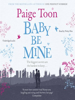 cover image of Baby Be Mine