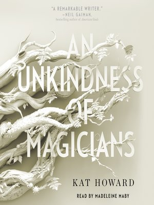 cover image of An Unkindness of Magicians