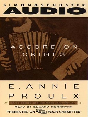 cover image of Accordion Crimes