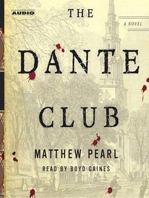cover image of The Dante Club