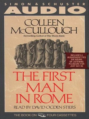 cover image of The First Man in Rome