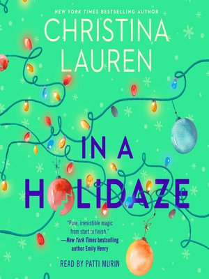 cover image of In a Holidaze