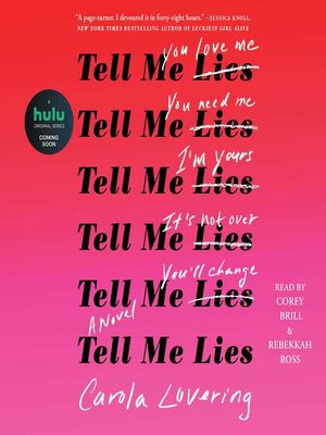 cover image of Tell Me Lies