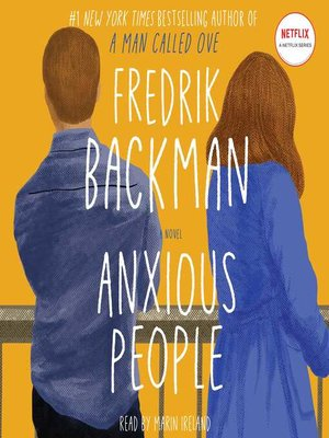 cover image of Anxious People